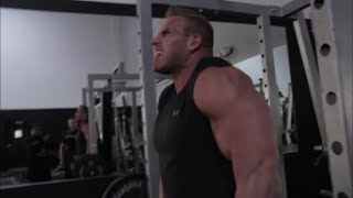 4x Mr. Olympia Jay Cutler's Winning Shoulder and Trap Workout with Pro Bodybuilder Marc Lobliner