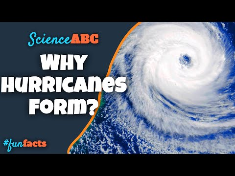 How Hurricanes Form? Why Hurricanes Spin AntiClockwise in North and Clockwise in Southern Hemisphere