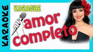 AMOR COMPLETO  Mon Laferte (karaoke)
