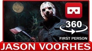 360° VR VIDEO - JASON VOORHEES - MACHETE - Friday The 13th - Halloween Film