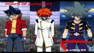 Beyblade AMV - Points Of Authority