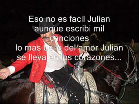 Julian de Joan Sebastian Letra y Video