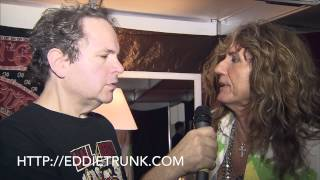Eddie Trunk interviews David Coverdale @ Monsters of Rock in Brazil