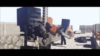 Aldeanos vs Ender Dragon | Animaciones 1#