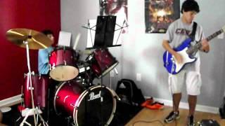 """Apocalyptica - End Of Me (cover) - Drums: Nicolas """"Nico"""" Alvarez, Guitar: Anthony """"Tony"""" Alvarez"""