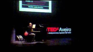 Pedro Abrunhosa@TEDxAveiro2011 - Momento