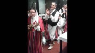 Folclore from Madeira in Restaurante O Lagar!