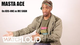 How Masta Ace Feels About MC Shan/ KRS-ONE Battle