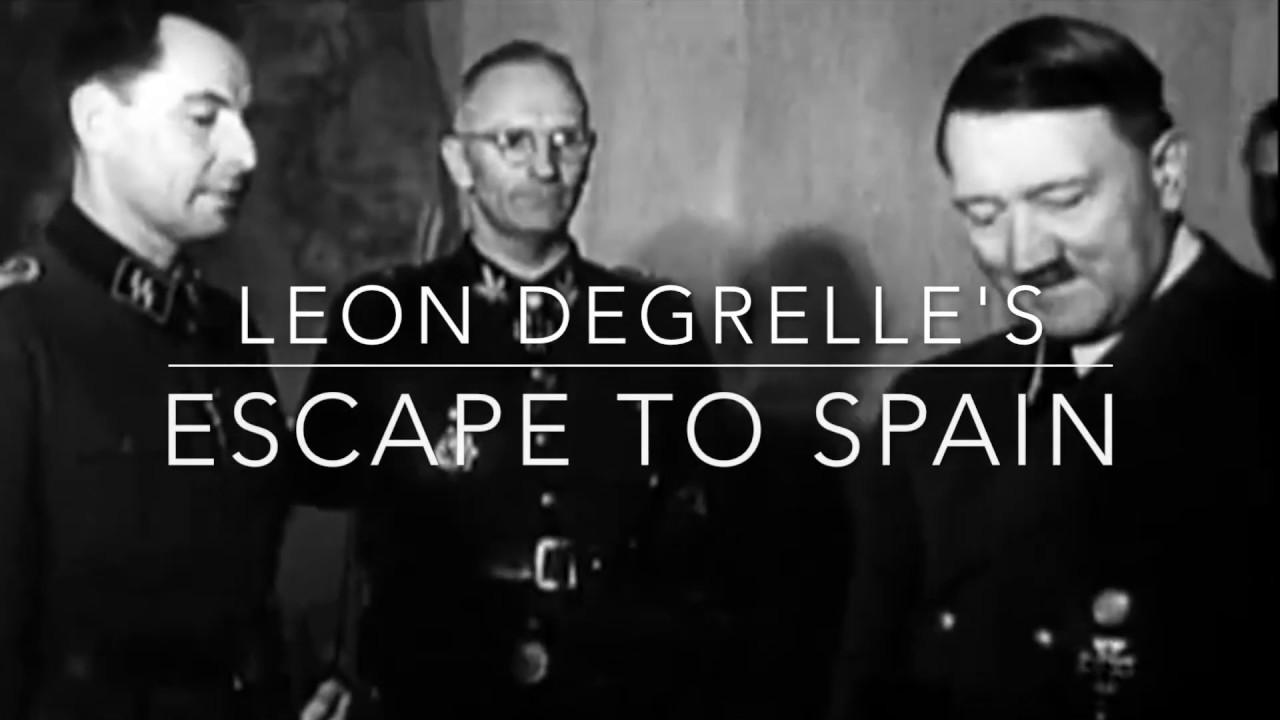 Nazi Leader's Daring Escape to Spain 1945