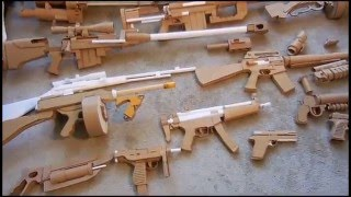 Cardboard Guns So Far
