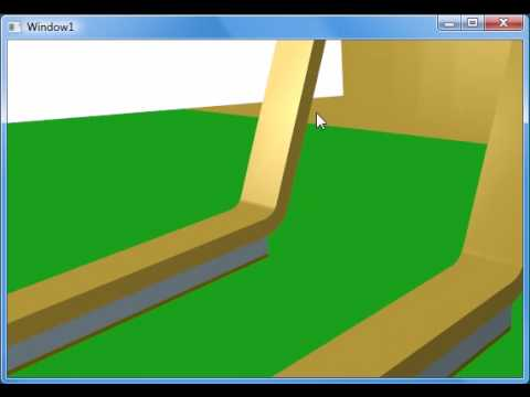 WPF Imported 3D CAD model