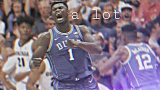 "Zion Williamson - ""a lot"" (NBA HYPE MIX) (Ft. 21 Savage and J Cole)"