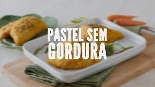 Pastel sem gordura | Receitas Saudáveis - Lucilia Diniz