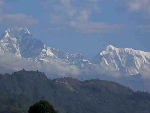 Martin in Nepal – Aussicht in Pokhara