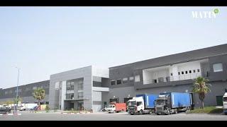 Marjane Holding : Visite de la plateforme logistique Sapino