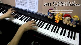 No Game No Life  OP - This Game Piano+Sheet arr.EgOistHiuMan HQ
