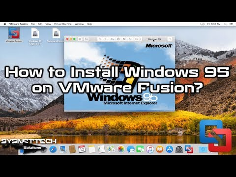 Windows 95 Installation Video