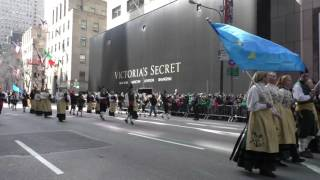 St. Patrick's Day Parade~NYC~2016~Asturias and Galician Pipe Band (Spain)~NYCParadelife