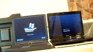 Windows xp vs windows vista boot