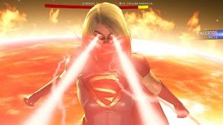 Injustice 2 Dublado PT-BR SuperGirl Vs Mulher-Maravilha