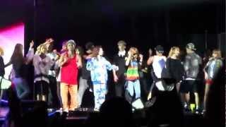 2NE1 STAY TOGETHER New Evolution Soundcheck L.A. Part 4/6