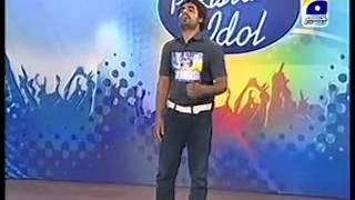 Pakistan Idol audition Yasir Khan 6 December 2013