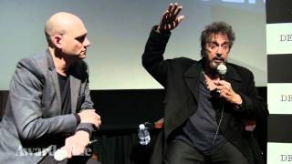 Al Pacino on Live Theater's High-Wire Act And 'The Humbling' (Pt. 3)