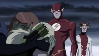 YOUNG JUSTICE INVASION IN ARTEMIS JUST LIKE FIRE
