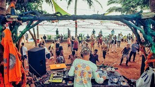 Dj Solnce in the Mix @ Chill Out Planet Festival 2017 Promo Party in Goa, Curlie's, 23.02.2017
