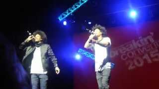"""Les Twins singing! """"Nanana you don't know me"""""""