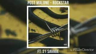 Post Malone- rockstar ft. 21 Savage (Audio)