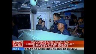 UB: Programang KMJS, inalam ang katotohanan sa likod ng mga umano'y ghost ships sa Lazi, Siquijor
