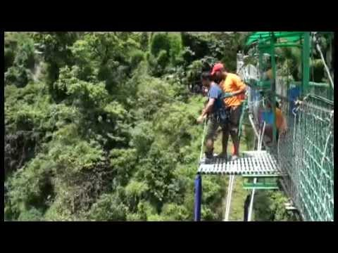 Imran Bungy Jumping in nepal