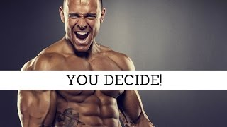 YOU DECIDE! | Aesthetic Fitness Motivation