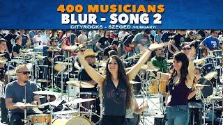 Blur Song 2 -  400 Hungarian musicians SzegedRocks 2018 official