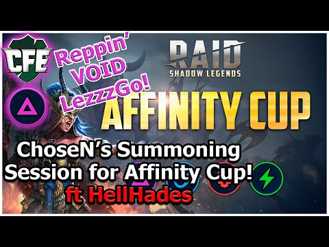 RAID Shadow Legends | Affinity Cup | ChoseN's Live Summons | ft HellHades