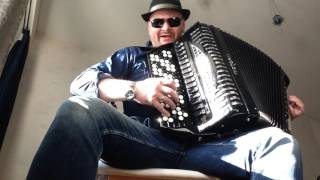 Hold The Line accordion cover by Sergei Repin