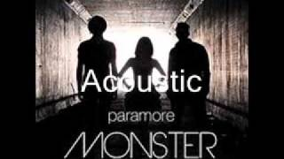 """Paramore """"Monster"""" Acoustic Instrumental"""