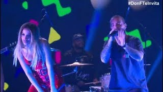 Anitta, J Balvin - Machika   Live en Don Francisco te Invita