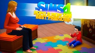 SIMS 4 Adventure - BABY ROPO & MOM ARE BEST FRIENDS!!!