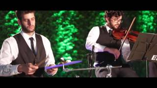 E ai já era Violino Piano Percussão - Mini Wedding Casamento Jorge e Mateus GrupoTrítono