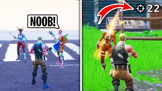 I Pretended To Be A NOOB in Squad Fills, Then CARRIED (Fortnite)