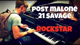 Post Malone - Rockstar ft. 21 Savage | Tishler Piano Cover