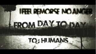 From Day To Day - I Feel Remorse No Anger (Official video)