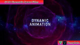 Free Sony Vegas Intro Template #118 : Cinematic Space Titles Template for Sony Vegas 13-16