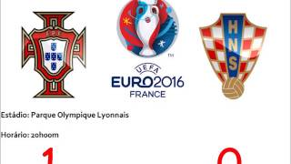 Croácia 0-1 Portugal - Relato do golo de Ricardo Quaresma RR // Euro 2016