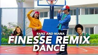 FINESSE (Remix) - Bruno Mars ft Cardi B Dance | Ranz and Niana