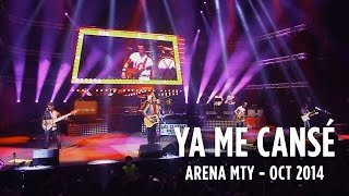 Los Claxons - Ya Me Cansé (En Vivo Desde La Arena Monterrey) #BootlegSessions