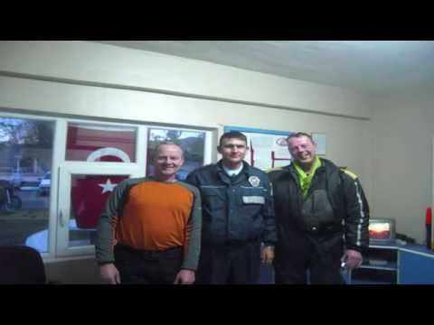 video Netherland to Turkey part 1 from 3 Holland to Nepal on BMW R1200GS motorbike motorcycle wide