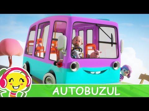 Autobuzul - Cantece cu masini pentru copii